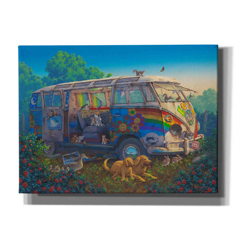Image of 'What A Wonderful World' by Richard Courtney, Canvas Wall Art
