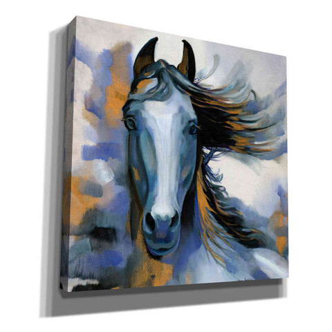 'Wild Blues' by Louise Montillio, Canvas Wall Art