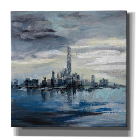 'Manhattan Winter' by Silvia Vassileva, Canvas Wall Art