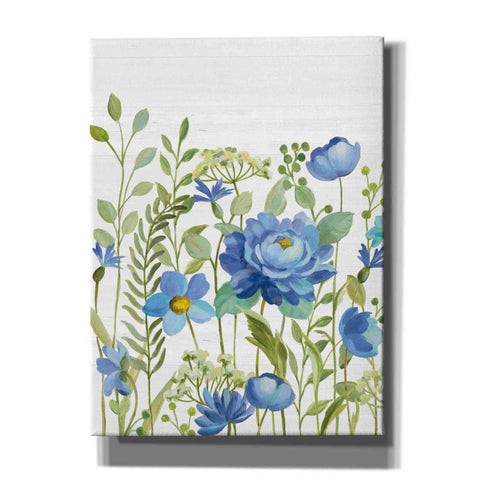 Image of 'Botanical Blue VII' by Silvia Vassileva, Canvas Wall Art