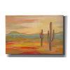 'Desert Saguaro' by Silvia Vassileva, Canvas Wall Art