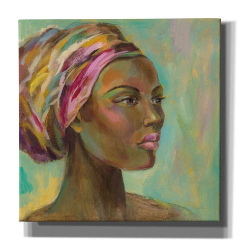 'African Woman I' by Silvia Vassileva, Canvas Wall Art