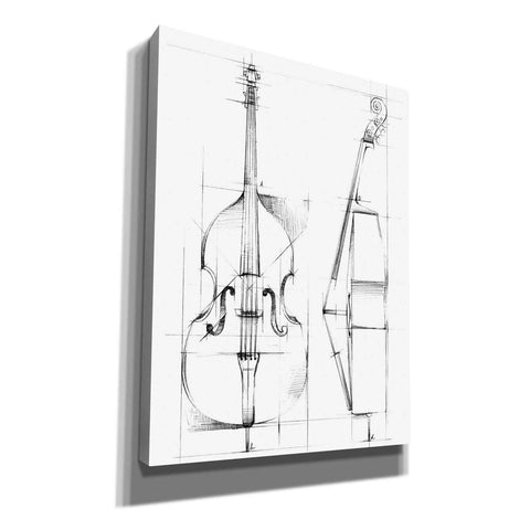 """Bass Sketch"" by Ethan Harper, Canvas Wall Art"