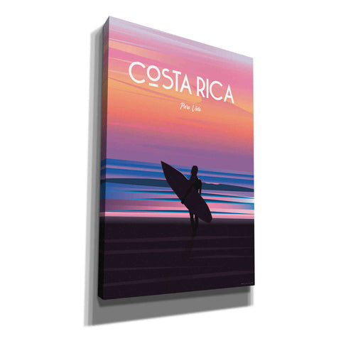 'Costa Rica' by Arctic Frame, Canvas Wall Art