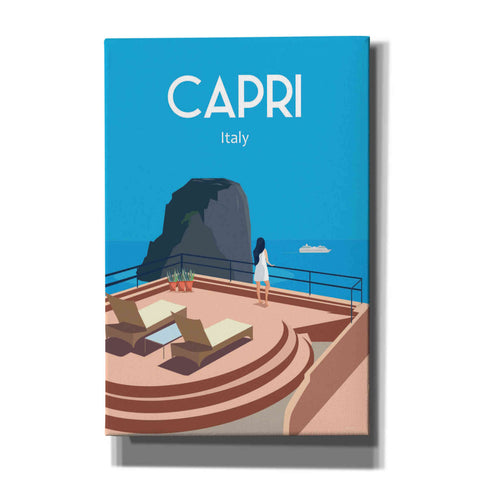 'Capri Italy' by Arctic Frame, Canvas Wall Art