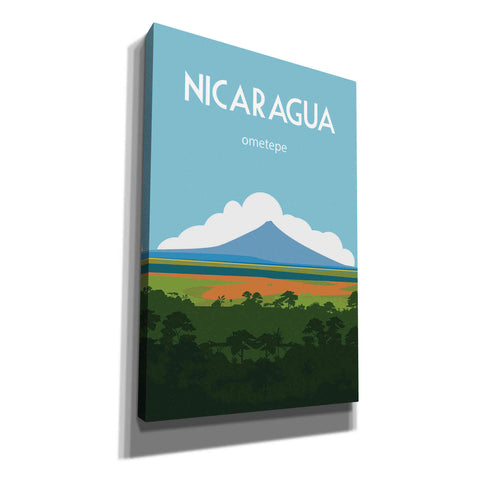 'Nicaragua' by Arctic Frame, Canvas Wall Art
