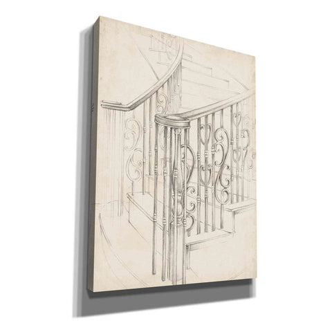 "Image of ""Iron Railing Design II"" by Ethan Harper, Canvas Wall Art"