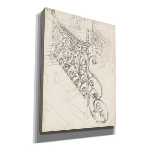 "Image of ""Iron Railing Design I"" by Ethan Harper, Canvas Wall Art"