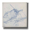 """Airplane Mechanical Sketch I"" by Ethan Harper, Canvas Wall Art"