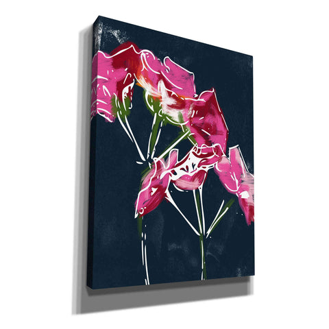 'Geraniums' by Linda Woods, Canvas Wall Art