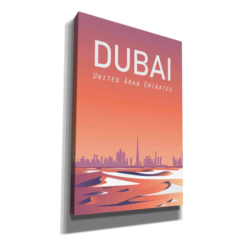 Image of 'Dubai' by Arctic Frame Studio, Canvas Wall Art