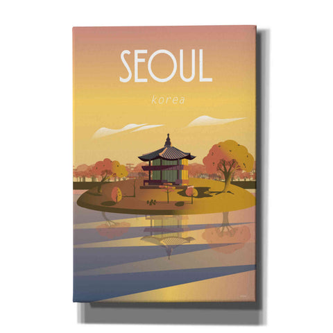 'Seoul' by Arctic Frame Studio, Canvas Wall Art