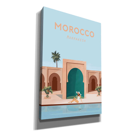 'Moroco' by Arctic Frame Studio, Canvas Wall Art