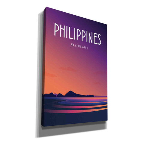 'Philippines' by Arctic Frame Studio, Canvas Wall Art
