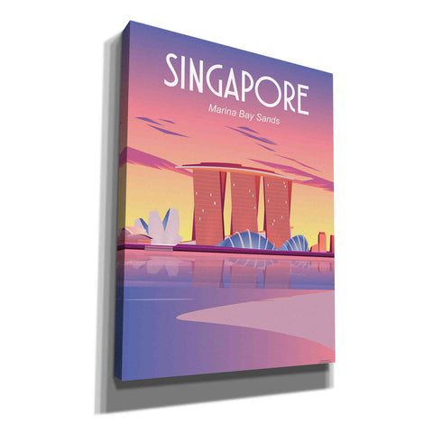 'Singapore' by Arctic Frame Studio, Canvas Wall Art