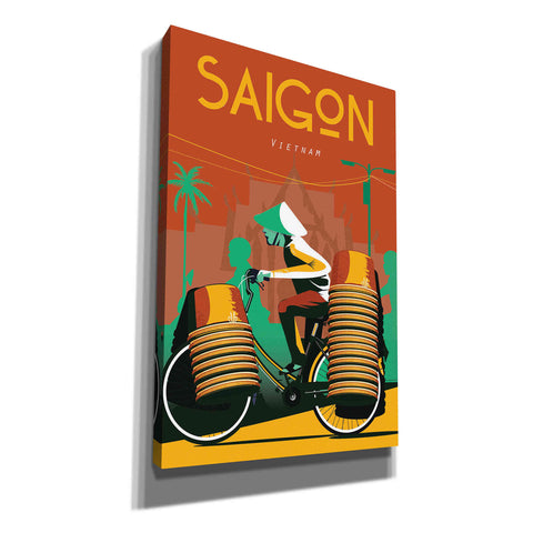 Image of 'Saigon Vietnam' by Arctic Frame Studio, Canvas Wall Art