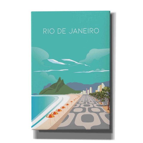 'Rio' by Arctic Frame Studio, Canvas Wall Art
