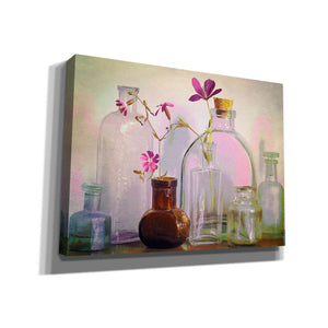 """Bottles On The Bureau"" by Hal Halli, Canvas Wall Art"