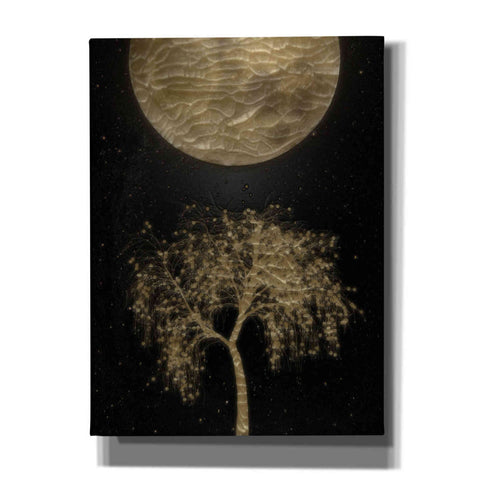 "Image of ""Golden Willow 3"" by Hal Halli, Canvas Wall Art"