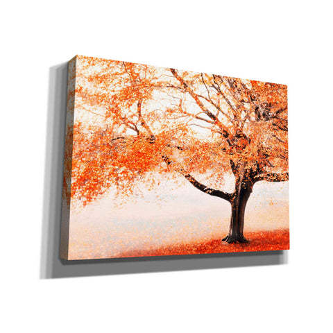 "Image of ""Once Upon A Crimson Autumn"" by Hal Halli, Canvas Wall Art"