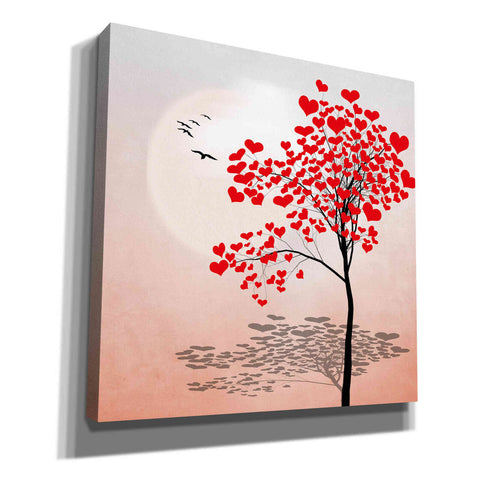"""Love Tree 2"" by Hal Halli, Canvas Wall Art"
