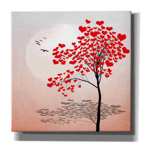 "Image of ""Love Tree 2"" by Hal Halli, Canvas Wall Art"
