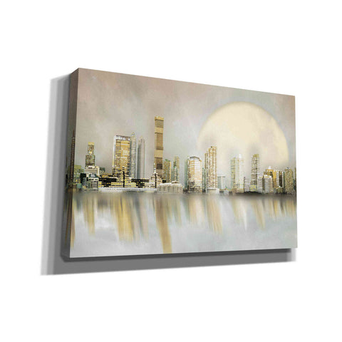 """City In The Sky 2"" by Hal Halli, Canvas Wall Art"