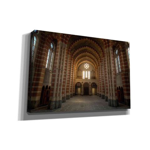 Image of 'Sunrise in Church' by Roman Robroek, Canvas Wall Art