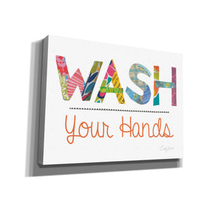 'Wash Your Hands' by Courtney Prahl, Canvas Wall Art