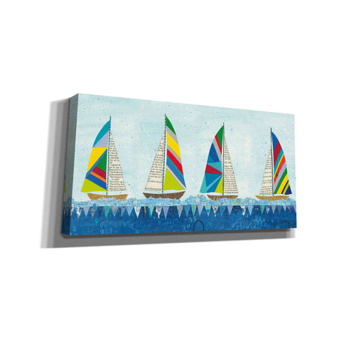 'Rainbow Spinnakers V' by Courtney Prahl, Canvas Wall Art