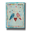 'Love Birds' by Courtney Prahl, Canvas Wall Art