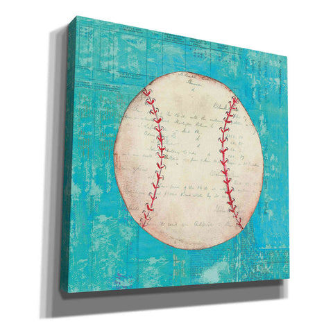 'Play Ball I Bright' by Courtney Prahl, Canvas Wall Art