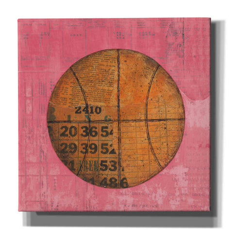 'Play Ball IV Bright' by Courtney Prahl, Canvas Wall Art