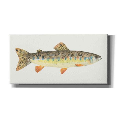 'Angling in the Stream III' by Courtney Prahl, Canvas Wall Art