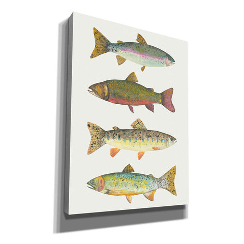 'Angling in the Stream V' by Courtney Prahl, Canvas Wall Art