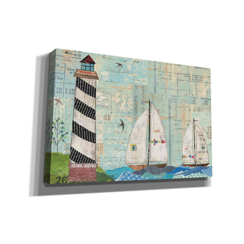 Image of 'At the Regatta Coastal Lighthouse' by Courtney Prahl, Canvas Wall Art