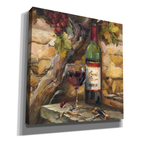 'Le Cour de le Chateau I' by Marilyn Hageman, Canvas Wall Art