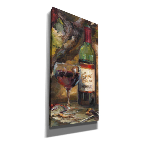 'Le Cour de le Chateau I Portrait' by Marilyn Hageman, Canvas Wall Art