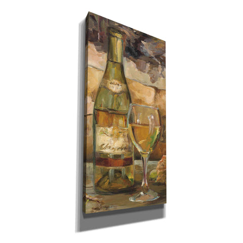 'Le Cour de le Chateau II Portrait' by Marilyn Hageman, Canvas Wall Art