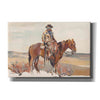 'Western Rider Warm' by Marilyn Hageman, Canvas Wall Art