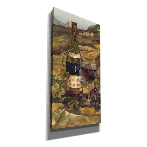 'Tuscan Valley Red' by Marilyn Hageman, Canvas Wall Art