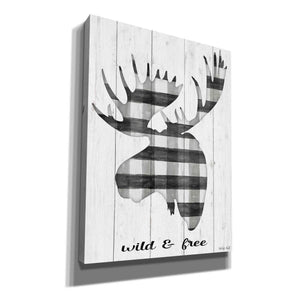 'Wild & Free' by Cindy Jacobs, Canvas Wall Art