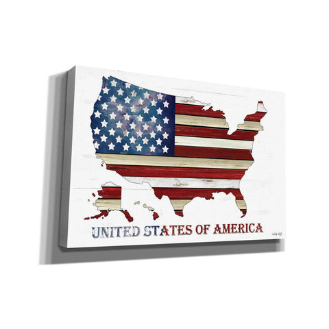 'United States of America' by Cindy Jacobs, Canvas Wall Art
