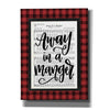 'Away in a Manger' by Imperfect Dust, Canvas Wall Art
