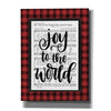 'Joy to the World' by Imperfect Dust, Canvas Wall Art