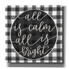 'All is Calm' by Imperfect Dust, Canvas Wall Art