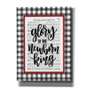 'Glory to the Newborn King' by Imperfect Dust, Canvas Wall Art