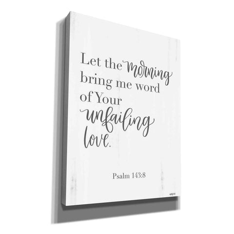 'Unfailing Love' by Imperfect Dust, Canvas Wall Art
