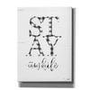 'Stay Awhile' by Imperfect Dust, Canvas Wall Art