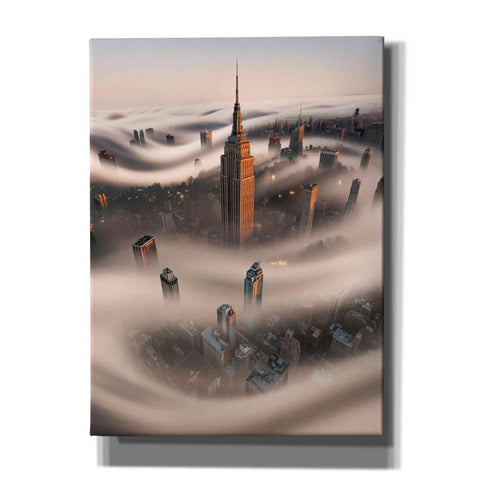 Image of 'Empire Fog' by Bruce Getty, Canvas Wall Art